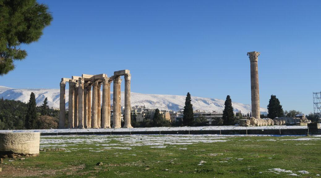 Tempel des Olympischen Zeus